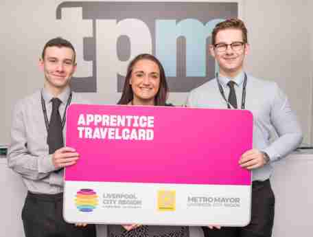 tpm apprentices hold apprentice travel card