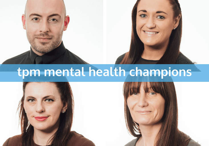 four mental health champions at tpm